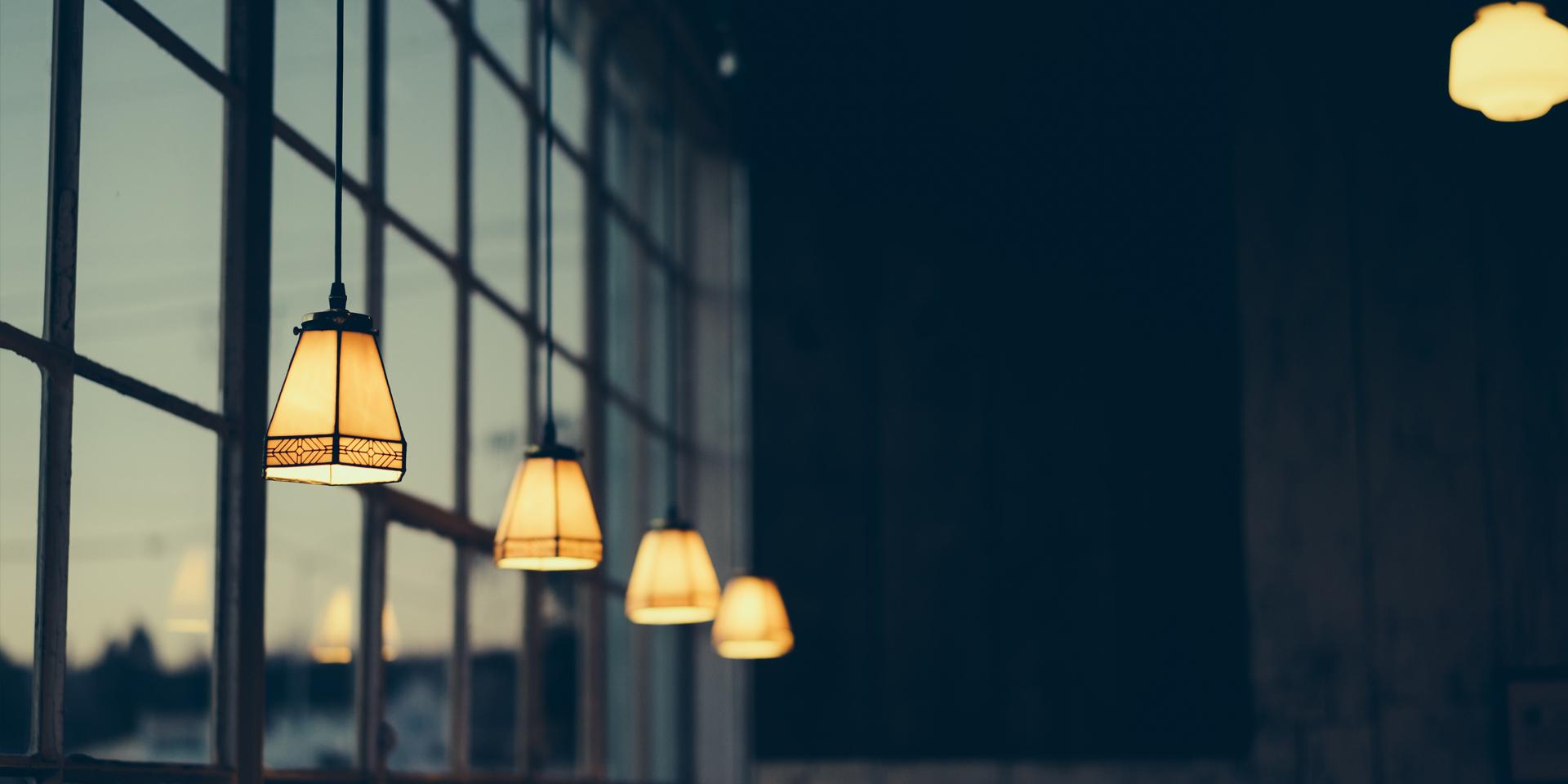 Lampen am Abend ,© pixabay/pexels